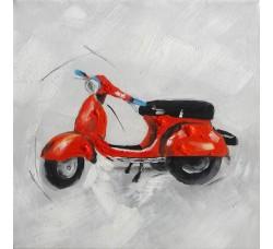 "Bubola e Naibo 30x30 ""Красный мотоцикл"""