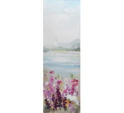 """Bubola e Naibo 30x90 """"Цветы и озеро 1"""""""