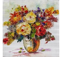 "Bubola e Naibo 60x60 ""Цветы в вазе 1"""