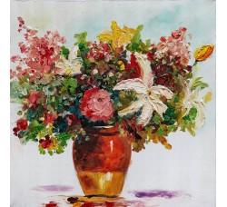 "Bubola e Naibo 60x60 ""Цветы в вазе"""