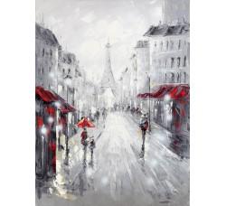 """Картина Bubola e Naibo 60x90 """"Париж, Эйфель"""""""