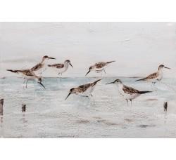 """Картина Bubola e Naibo 60x90 """"Птицы на воде"""""""