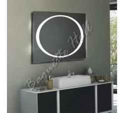 Зеркало для ванной комнаты с LED-подсветкой и сенсорным выключателем 1000мм х 800мм