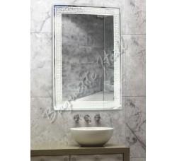 Зеркало для ванной комнаты с LED-подсветкой и сенсорным выключателем 600мм х 800мм