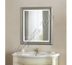 Зеркало для ванной комнаты с LED-подсветкой и сенсорным выключателем 630мм х 780мм