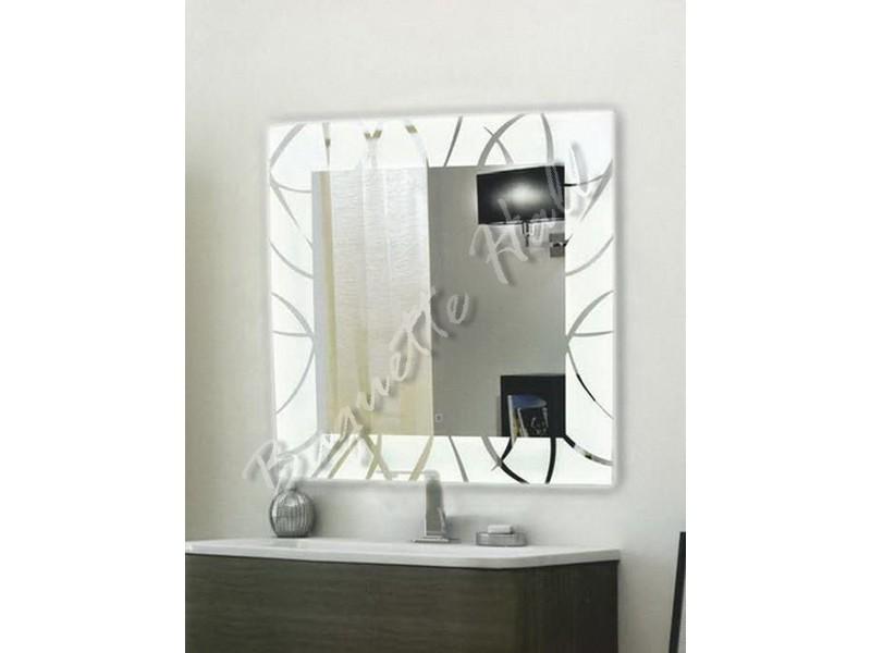 Зеркало для ванной комнаты с LED-подсветкой и сенсорным выключателем 770мм х 770мм