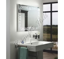 Зеркало для ванной комнаты с LED-подсветкой и сенсорным выключателем 920мм х 690мм