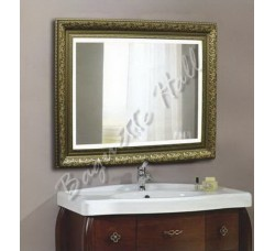 Зеркало для ванной комнаты с LED-подсветкой и сенсорным выключателем 920мм х 710мм