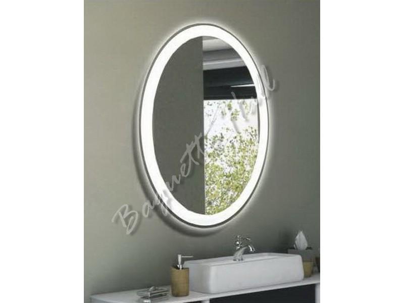 Зеркало для ванной комнаты с LED-подсветкой и сенсорным выключателем 570мм х 770мм