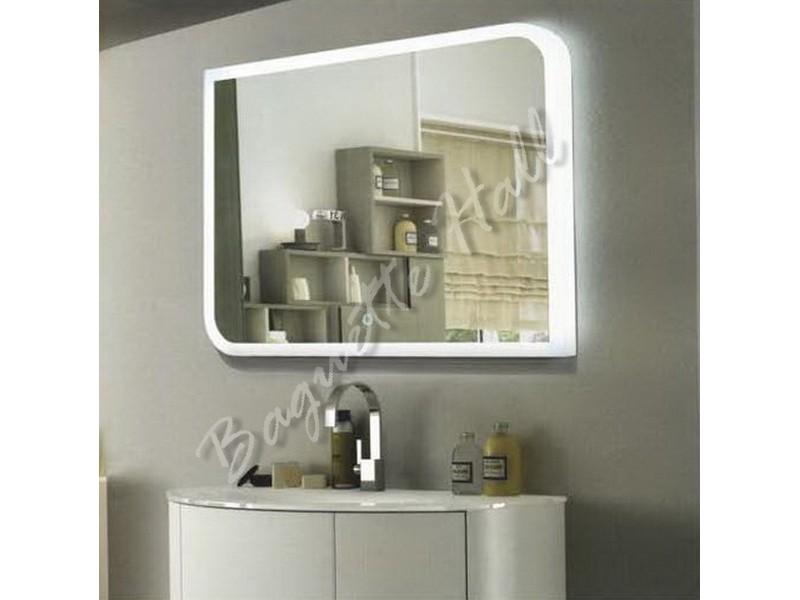Зеркало для ванной комнаты с LED-подсветкой и сенсорным выключателем 800мм x 600мм