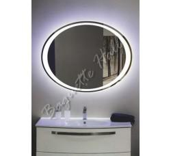 Зеркало с LED-подсветкой и сенсорным выключателем 900мм x 700мм