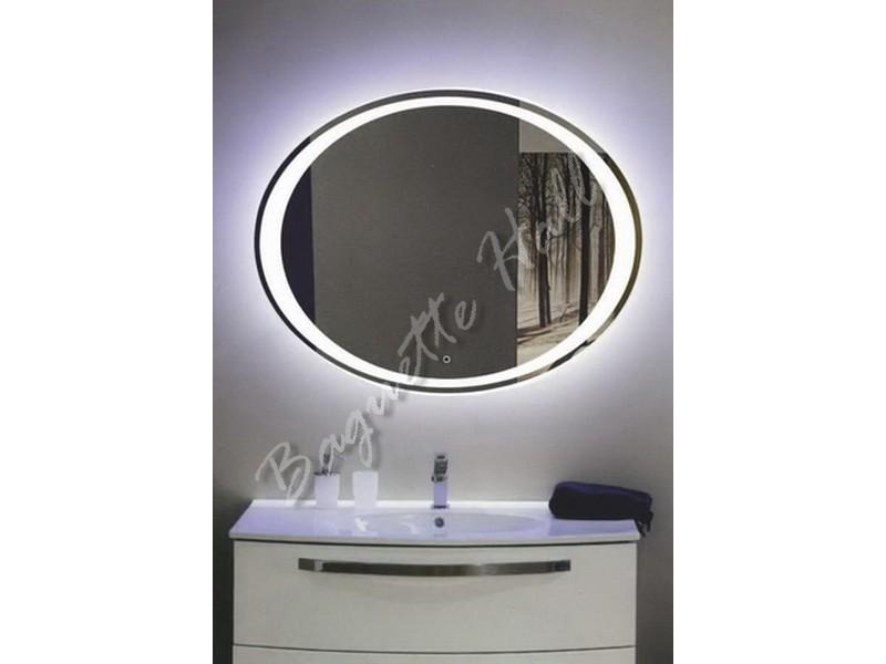 Зеркало для ванной комнаты с LED-подсветкой и сенсорным выключателем 900мм x 700мм