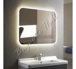 Зеркало с LED-подсветкой и сенсорным выключателем 920мм x 690мм