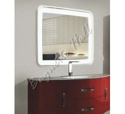 Зеркало с LED-подсветкой и сенсорным выключателем 915мм x685мм