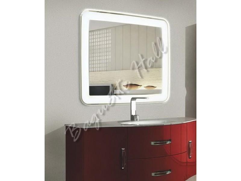 Зеркало для ванной комнаты с LED-подсветкой и сенсорным выключателем