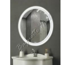 Зеркало с LED-подсветкой и сенсорным выключателем D770мм