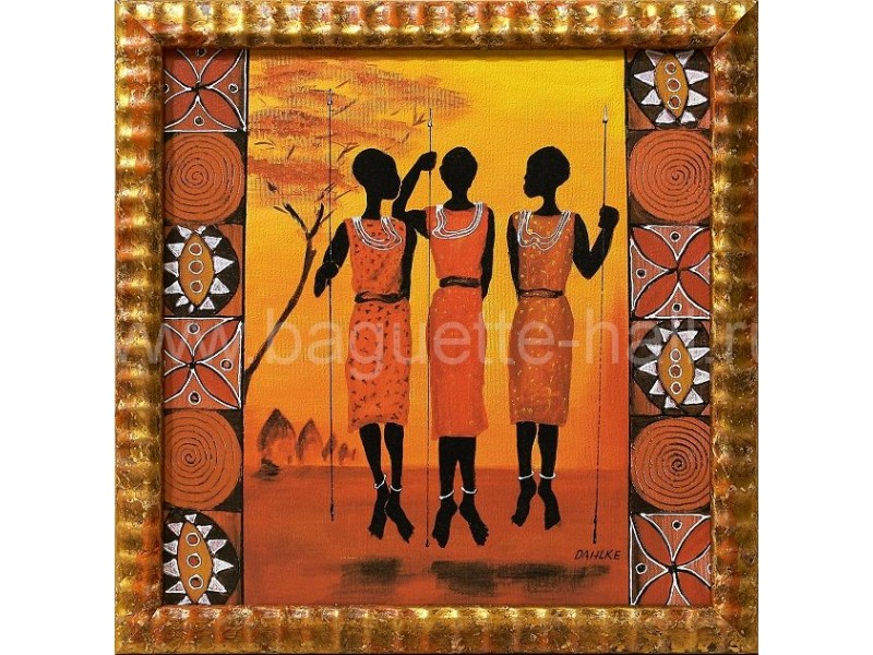 """Арт-постер """"Африканки I"""""""