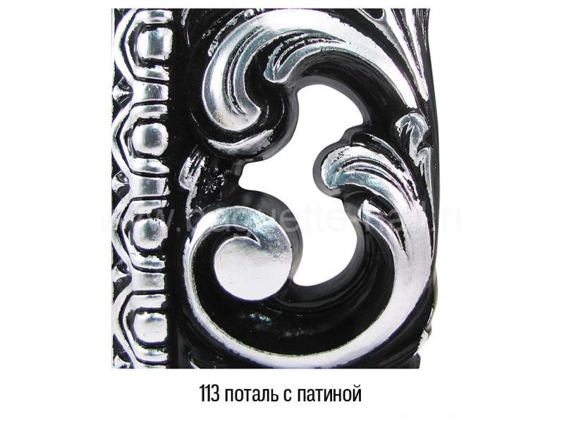 Прямоугольное зеркало с резным багетом