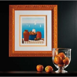 Багет Тип профиля Плоский, Цвет Оранжевый