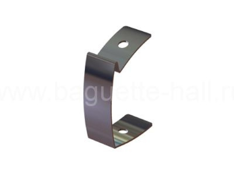 Стержень d3 мм с U-образным наконечником серебряный, 300 см