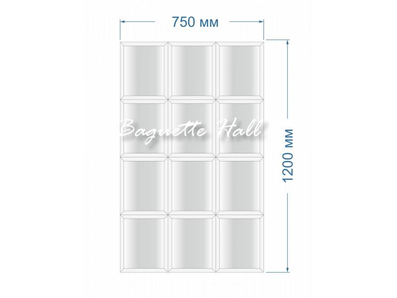 Зеркальное панно BH-5006 75x120