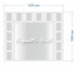 Зеркальное панно BH-5007 120x100