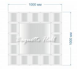 Зеркальное панно BH-5008 100x100