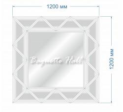 Зеркальное панно BH-5009 120х120