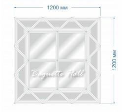 Зеркальное панно BH-5011 120х120