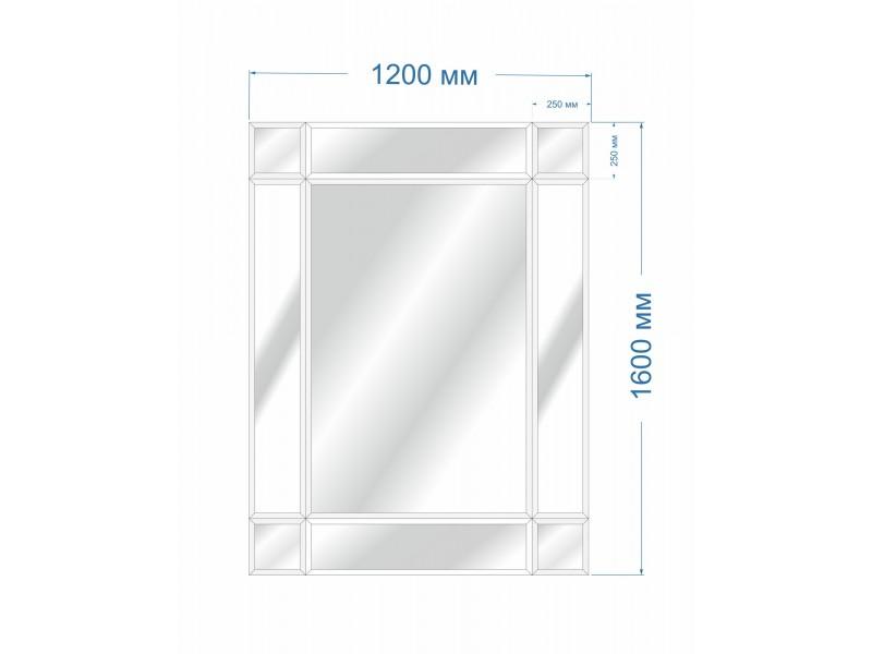 Зеркальное панно BH-5012 120х160