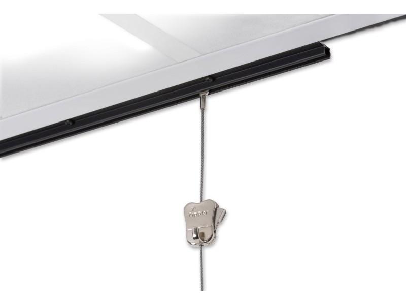 """U-образный потолочный рельс """"U-Rail"""", 20 кг/м, Белый 200 см"""