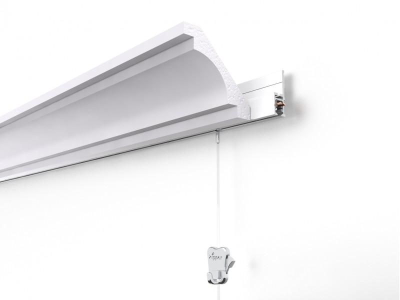 """Скрытый токопроводящий рельс """"Multirail Crown"""" Белый 300, 45 кг/м"""