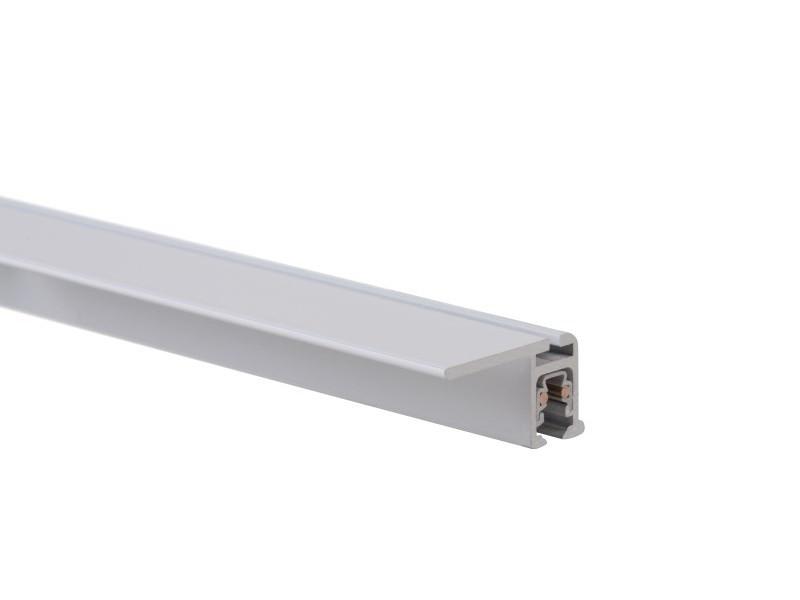 """Скрытый токопроводящий рельс """"Multirail Flat"""" Белый 200, 45 кг/м"""