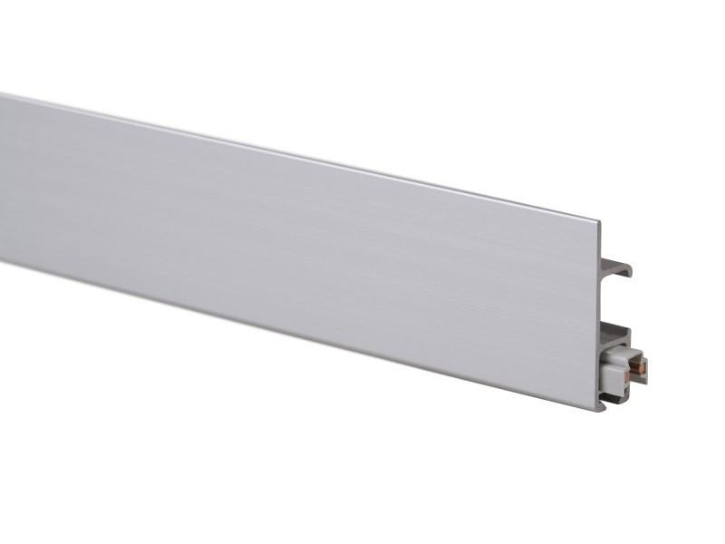 """Скрытый токопроводящий рельс """"Multirail Max"""" Серебряный 300 см, 45 кг/м"""