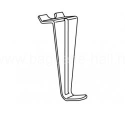 """S-образная подвеска для внутристенного рельса """"Plasterrail"""""""