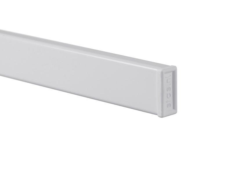 """Скрытый рельс """"Cliprail Pro"""" Белый 200 см"""