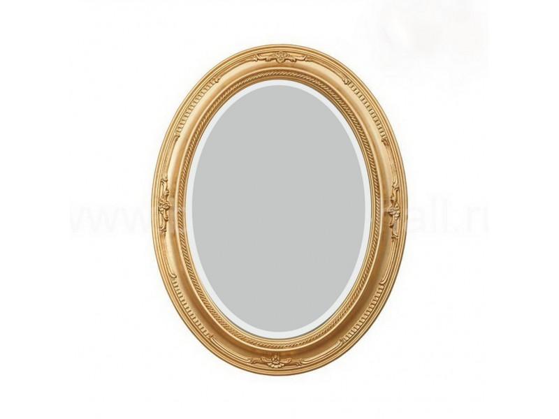 Овальное зеркало итальянского стиля с фацетом
