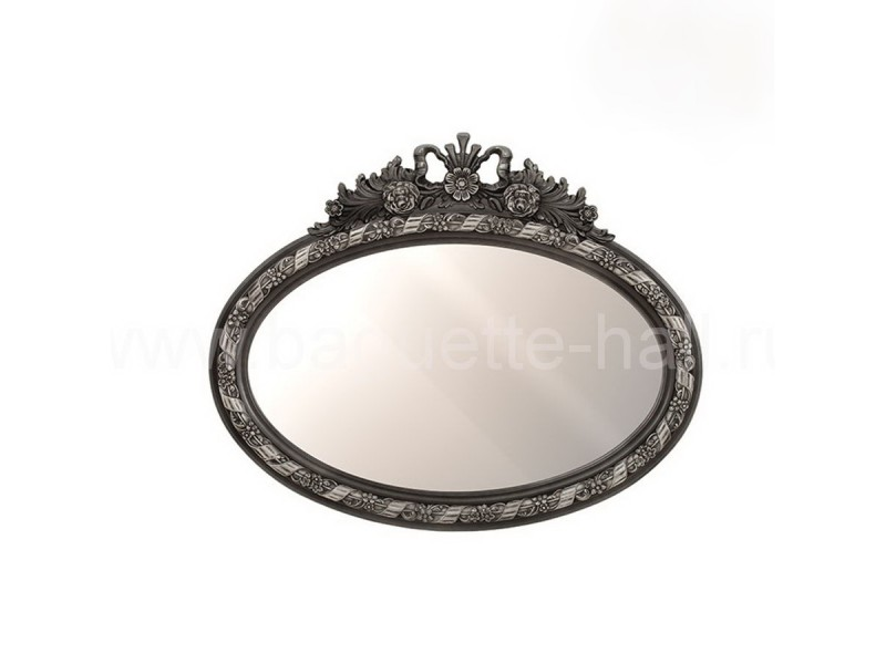 Овальное зеркало с кокошником
