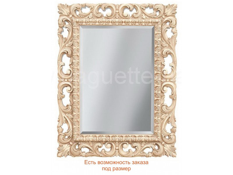 Зеркало прямоугольное с фацетом