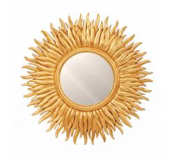 "Зеркало  ""Солнце"" без фацета"