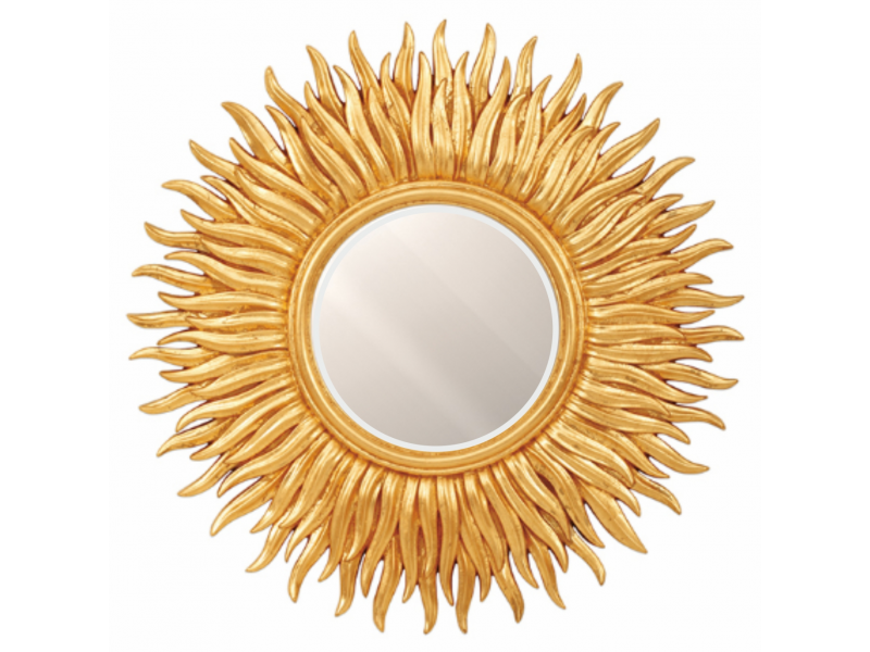 "Зеркало  ""Солнце"" с фацетом"