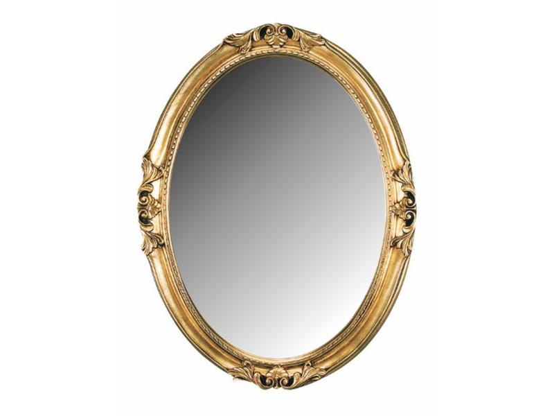Зеркало в изящной  утончённой раме в стиле Барокко